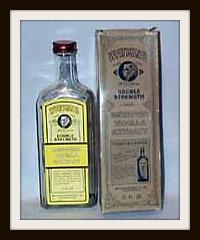 Old Watkins Vanilla Extract Bottle